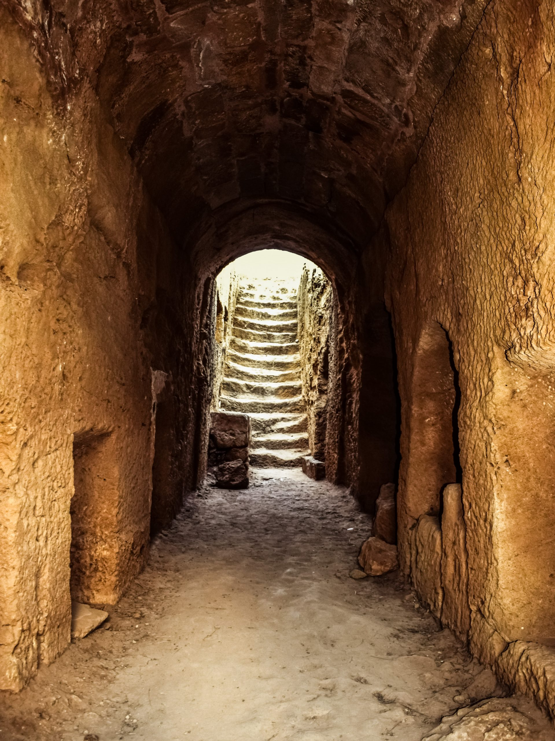 cyprus, paphos, tombs of the kings